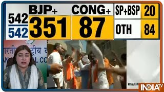 Lok Sabha Election Results 2019 LIVE | Celebrating PM Modi's Lead