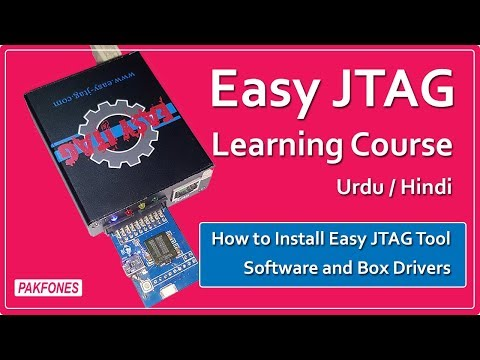 How to Install Easy JTAG Tool Software and Box Drivers | Easy JTAG Learning Course  #1