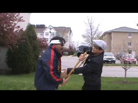 Garimot Arnis Training. Guro-Dad's way of locking and disarming Image 1