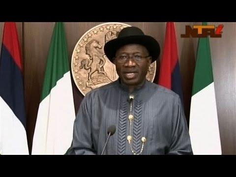 Nigerian President Vows 'Total War' on Boko Haram