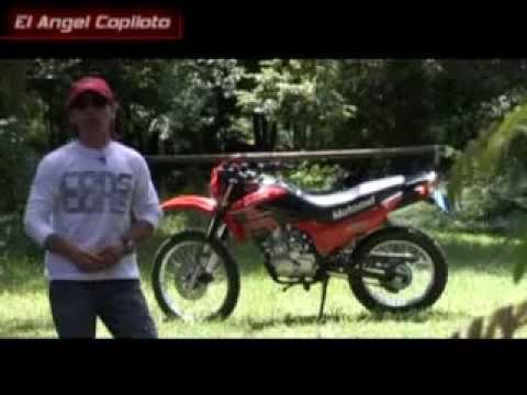 El Angel Copiloto test Motomel Skua 150
