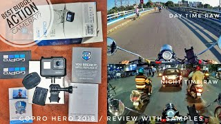 Gopro Hero 2018 best budget action camera for motovlogging? | Review with samples
