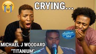 "Download Lagu Michael J. Woodard Sings ""Titanium"" by David Guetta & Sia - Top 14 - American Idol 2018  (WE CRIED!) Gratis STAFABAND"