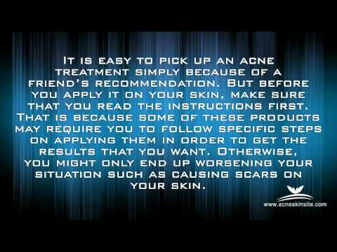 Tips on How to Prevent Acne Scars