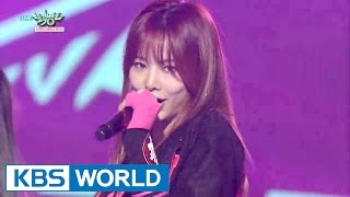 EXID HOT PINK Music Bank HOT Stage 2015 11 27