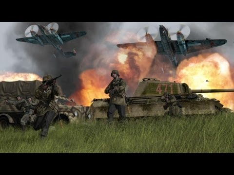 ◀Iron Front: Liberation 1944, Exclusive Game Play Preview