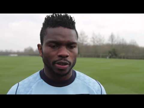 Joseph Yobo 1v1 Ahead of Swansea