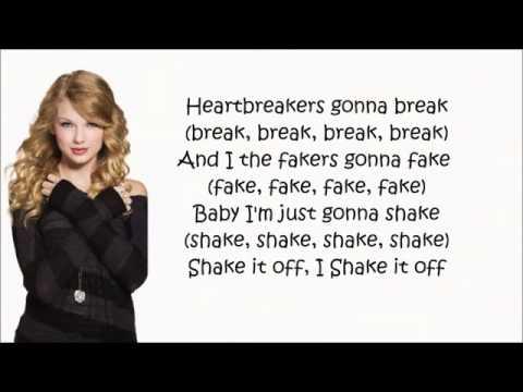 Taylor swift quot shake it off quot lyrics youtube