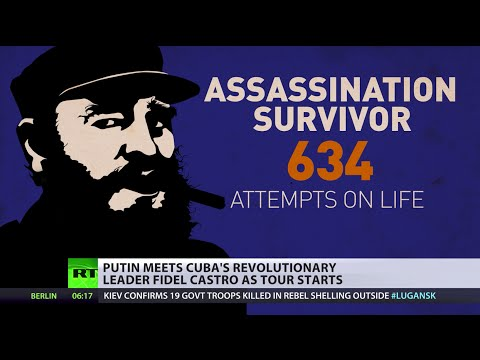 Latin America Tour: Putin meets revolutionary leader Fidel Castro