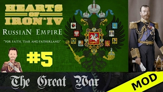 Hearts of Iron 4 - Great War Mod - Russian Empire - Episode 5