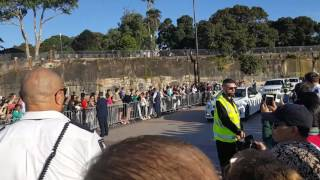 The Vice-President Mike Pence visit to Sydney Opera House