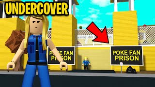 PRISON CAPTURED ALL MY FANS!! I Went UNDERCOVER And Broke Them Out! (Roblox)