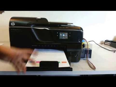 COMO USAR A IMPRESSORA HP OfficeJet Pro 8100/8600/251/276 - com BULK INK ECOPLUS -  parte 2