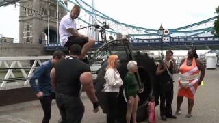 Monsterbike: worlds heaviest bicycle london 2012