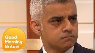 Sadiq Khan on How Police Cuts Harm Anti-Terrorism Efforts   Good Morning Britain