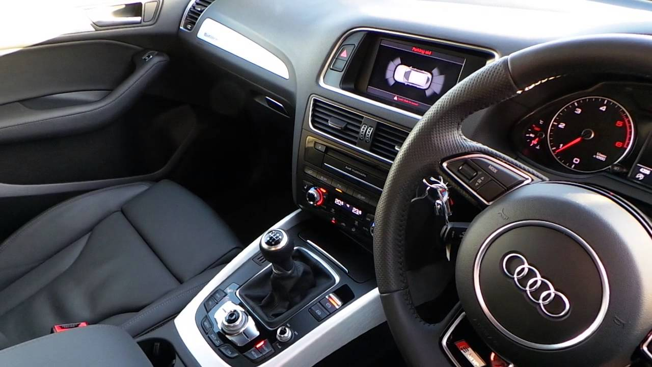 Crewe Audi - Approved Used Audi - Q5 2.0 TDI Q S-LINE PLUS - YouTube