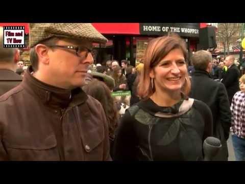 Paul Kewley and Julie Lockhart Red Carpet Interview at Shaun the Sheep Premiere