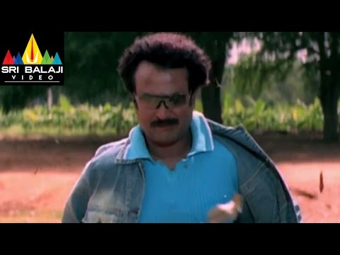 Chandramukhi Movie Rajinikanth Introduction fight scene