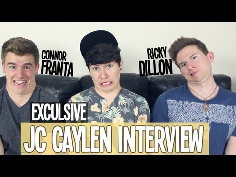 Connor Franta & Ricky Dillon Interview Jc Caylen