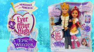 Epic Winter Rosabella Beauty and Daring Charming two Park Ever After High