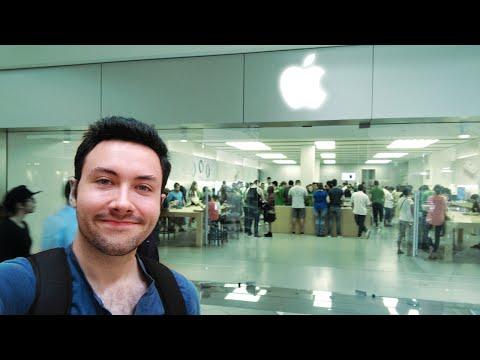 Mon Premier Apple Store aux États-Unis !