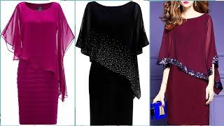 Sleeveles Sheet Double Frill Business Dresses For Women