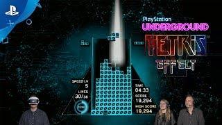 Tetris Effect - PS VR Gameplay | PlayStation Underground