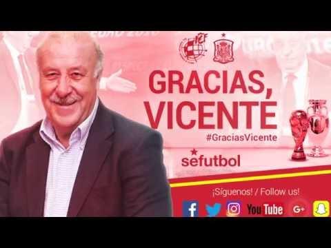 Vicente del Bosque, el seleccionador más exitoso del fútbol español