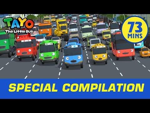 Meet Tayo's Car Friends (73 mins) l Tayo The Little Bus
