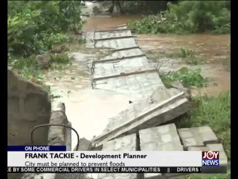 Accra Floods - Today's Big Story on Joy News (2-6-15)