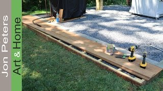 Build a small Deck - Outdoor Kitchen Project