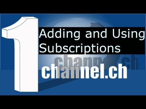 1Channel Subscriptions in XBMC 12.2 Frodo install and usage tutorial