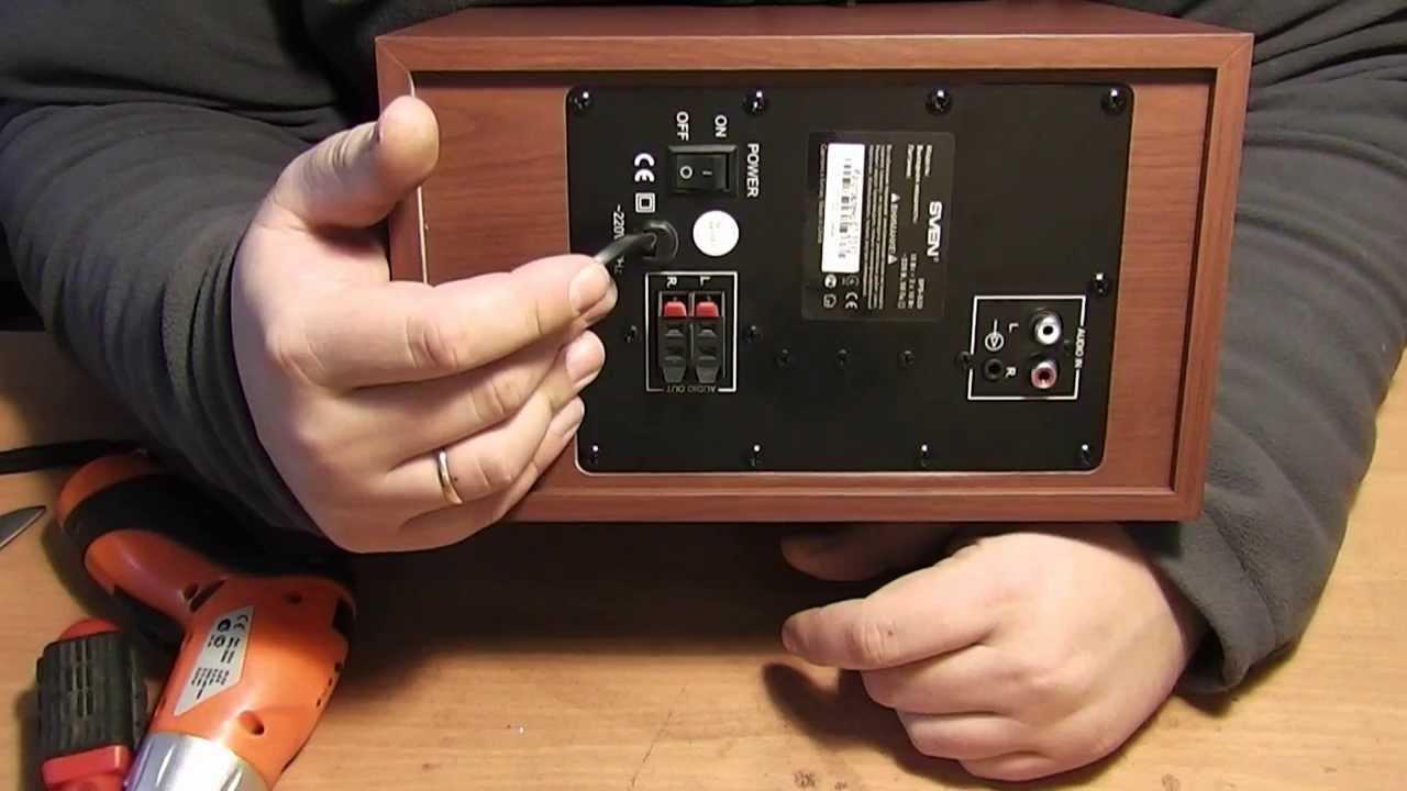Ремонт компьютерного сабвуфера своими руками 37