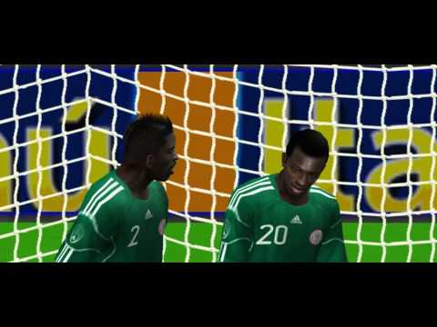 MESSI GOAL ARGENTINA NIGERIA - 2014 WORLD CUP BRAZIL FOOTBALL SOCCER MATCH GAME SIMULATION VIDEOGAME