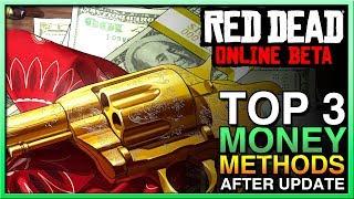 TOP 3 Red Dead Redemption 2 Online Money Method - RED DEAD ONLINE MONEY UPDATE! RDR2 Online