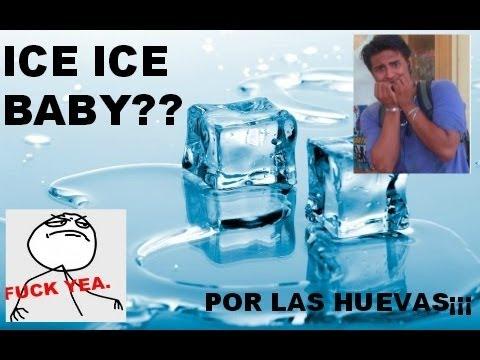 ¡¡¡POR LAS HUEVAS¡¡¡ RETO DEL  ICE ICE BABY no apto para sencibles del estomago
