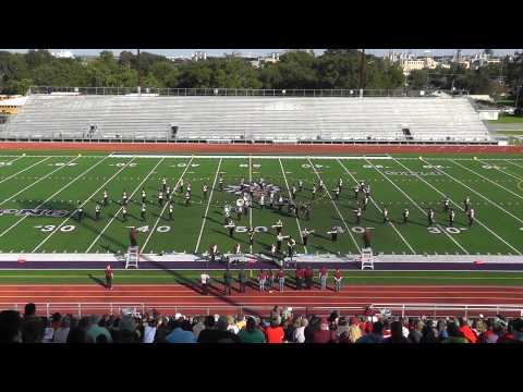 Silsbee High School Band 2013 - UIL Region 10 Marching Contest