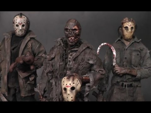 Friday 13th Sideshow figures - customized & weathered