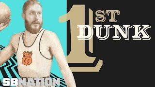 How basketball's first dunker won gold on Hitler's home court.