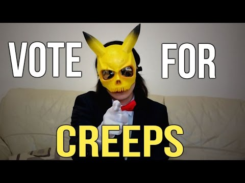 CreepsMcPastas Election Campaign   VOTE FOR CREEPS