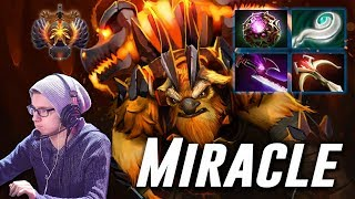 Miracle Earthshaker | MID OWNAGE | Dota 2 Pro Gameplay