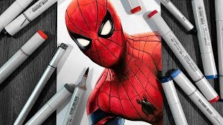 Drawing Spider-Man: Far From Home