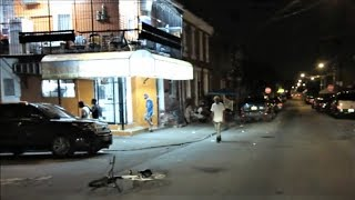 PHILADELPHIA'S HISPANIC/PUERTO RICAN HOOD AT NIGHT