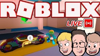 WE BUY THE VOLT BIKE THANKS TO OUR FANS! Roblox Jailbreak + Update News (Live Stream)