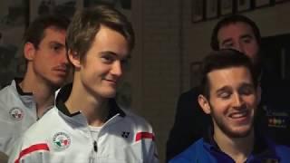 Al Palabadminton di Milano premiati gli atleti italiani del 2018