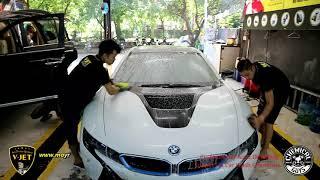 Rửa siêu xe thể thao 2 cửa BMW i8