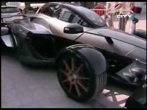 Tramontana Supercar in Dubai Autodrome Motorsport Festival