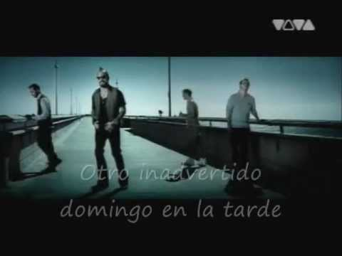 Backstreet Boys Unsuspecting Sunday Afternoon subespañol