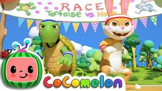 The Tortoise and the Hare | Cocomelon (ABCkidTV) Nursery Rhymes & Kids Songs