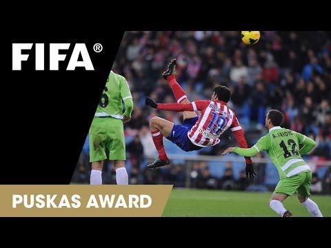 Diego Costa Goal: FIFA Puskas Award 2014 Nominee